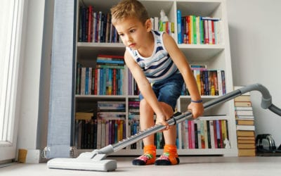 Include Your Kids in the Chore of Vacuuming